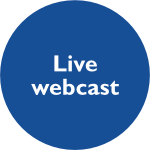 Live webcast button